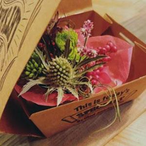 バレンタイン用のギフトボックス