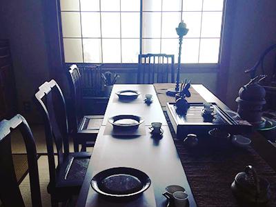 書の稽古と茶会を同時に実現する講座<書と茶のじかん>
