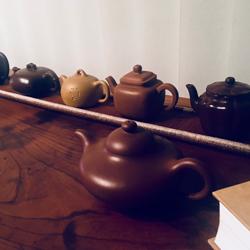 伝統的な急須。中国では茶壺と呼ばれる。
