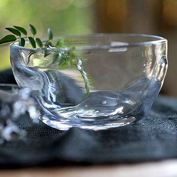 吹きガラスの中鉢